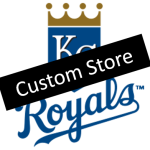 Kansas City Royals Custom Store Logo