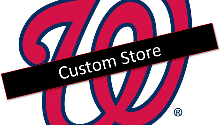 Washington Nationals Low Crown Hats
