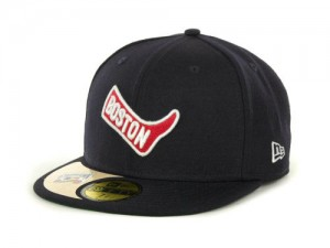 Boston Red Sox New Era MLB Cooperstown Patch 59fifty cap