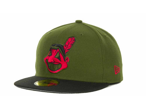 "new style f7096 a8730 Green New Era ""MLB Sneak Up 59FIFTY Cap"""