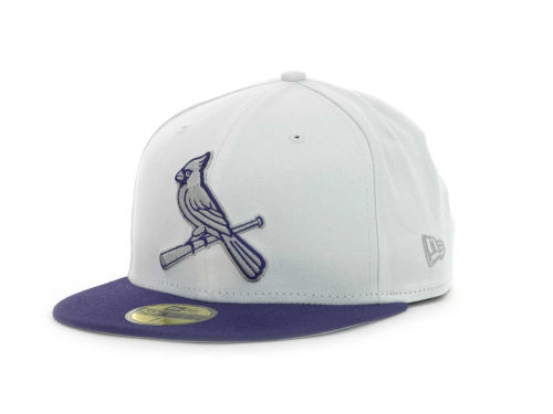 "designer fashion dae7e 5b656 Purple New Era ""MLB Sneak Up 59FIFTY Cap"""