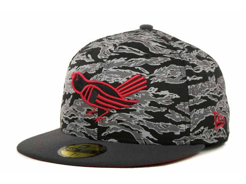 MLB New Era Tiger Camo Hat, 59 FIFTY