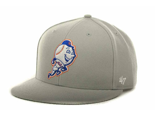 low priced 64561 aed67  47 Brand Vintage Strapback. April 16, 2013 by Major League Baseball Hats. New  York Mets 47 Brand MLB ...
