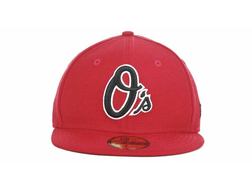 MLB Red and Black Cap New Era 59FIFTY
