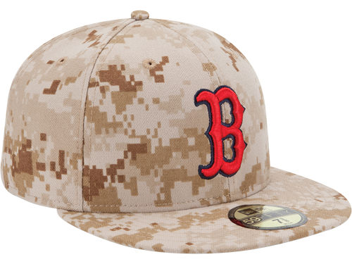 2013, 2014, 2015 and 2016 MLB Memorial Day Camo Hat, 59Fifty & 39Thirty