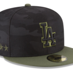 2018 MLB Memorial Day 59fifty Cap, on-field Camo