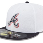 Atlanta Braves 2013 MLB 4th of July Hats, Stars and Stripes 59FIFTY