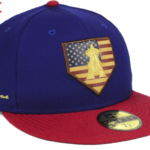 2018 MLB Home Plate 59fifty, Home of the Brave Cap