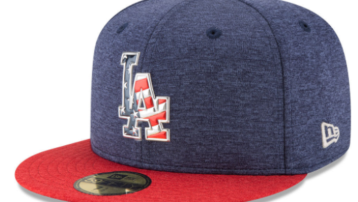 2017, 2016, 2015, 2014 and 2013 MLB 4th of July Hats, Stars and Stripes 59FIFTY