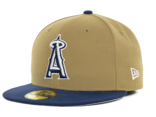 Custom Brown and Blue New Era Hat, 59fifty