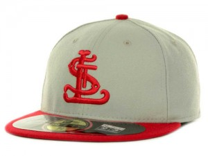 St Louis Cardinals New Era MLB Turn Back the Clock, Throwback 59FIFTY Hat