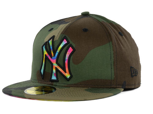 New Era Camo and Tie Dye 59fifty