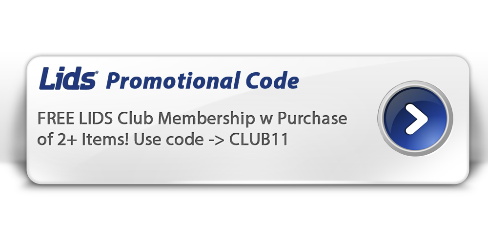 Receive a free 20% off discount on all hats and 10% off all apparel and accessories when you sign up for LIDS Club. You also earn 1 point for every $1 you spend.