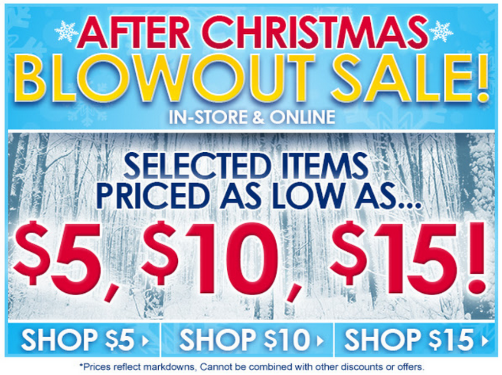 Coupons for after christmas sales 2018