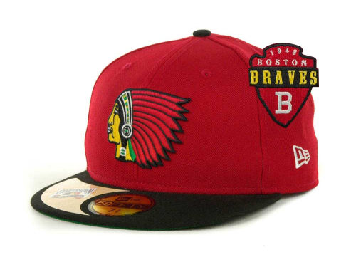 Boston Braves MLB Cooperstown Hat by New Era f6caf31dad9