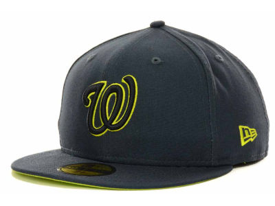 Gray And Neon New Era Hat Mlb
