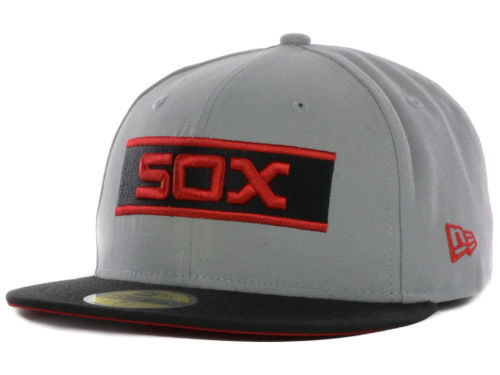 New Era Red and Gray 59fifty