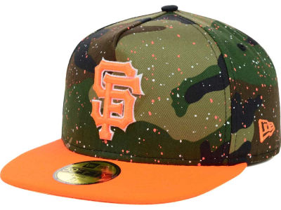 2014 MLB Splatted Camo Cap