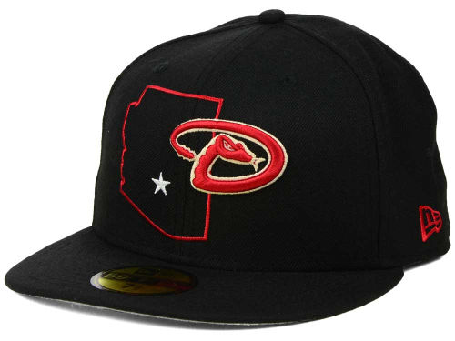 MLB New Era State Outline 59fifty Caps