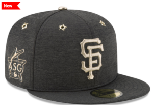 San Francisco Giant All STar Patch Cap 2017