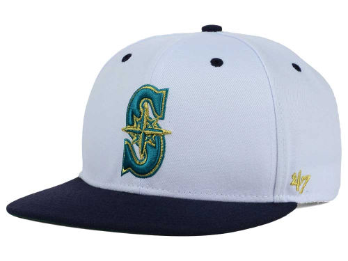 '47 Brand White and Gold Snapback Hat