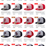 The 2016 MLB 4th of July Patriotic Stars Hat