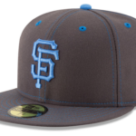 2016 MLB Gray and Blue Fathers Day Cap