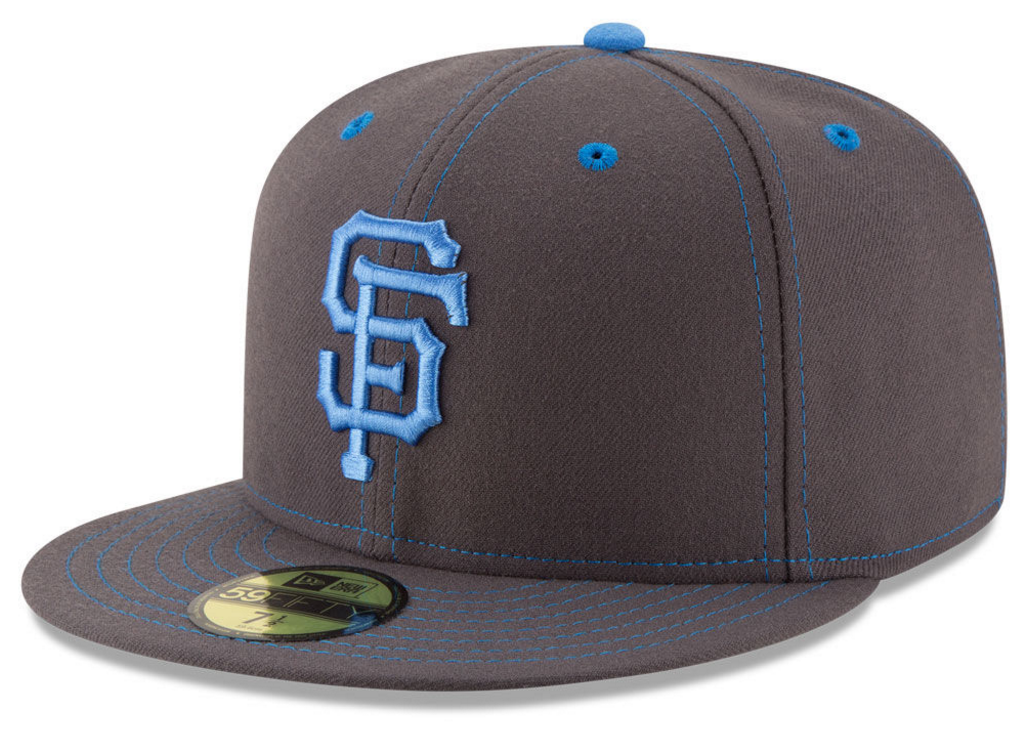 The Mlb Fathers Day Gray And Blue 59fifty New Era Hat
