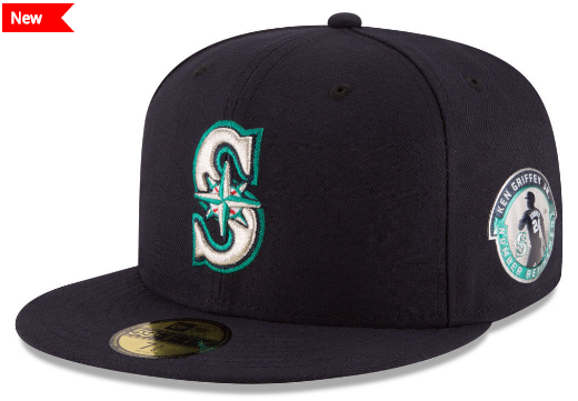 2016 Ken Griffey Jr. HOF 59fifty Patch Hat