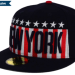 MLB USA Big Stars and Stripes Hat