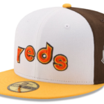 2016 Brown, Yellow, and Orange All Star Home Run Derby Hat