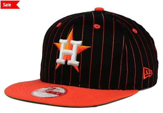 MLB New Era Throwback Pinstripe Hat