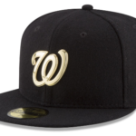 2016 MLB O'Gold New Era 59fify, Gold Plated Logo