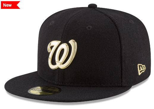 Washington National Gold Plated 59fifty New Era Cap