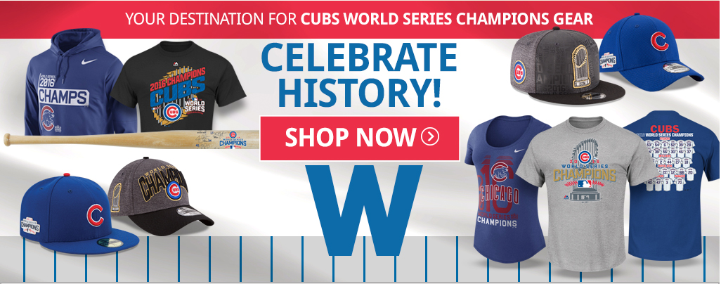 Cubs are 2016 World Series Champion Patch Hats and Gear