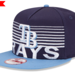 MLB white stripe stack Cap, 9fifty Snapback