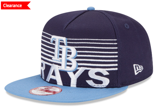 9fifty horizontal strips on snapback cap from New ERa MLB