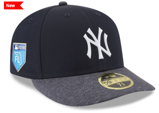 2018 MLB Spring Training Patch Cap, Pro Light