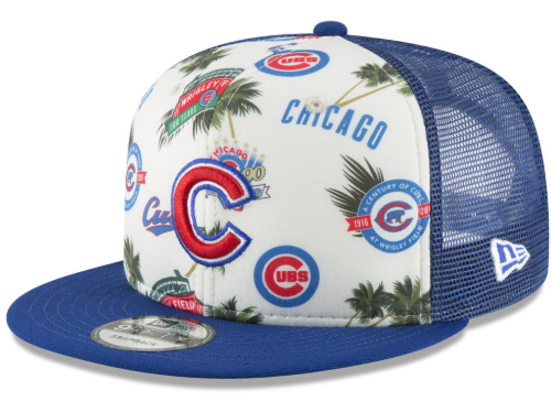 MLB Tropical Trucker Hat