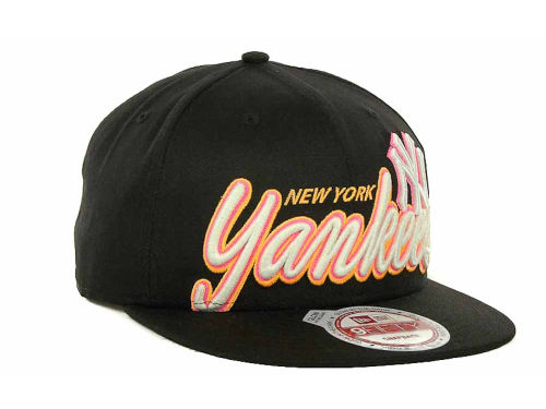 Black Mlb Glow In The Dark Hat Snapback 9fifty