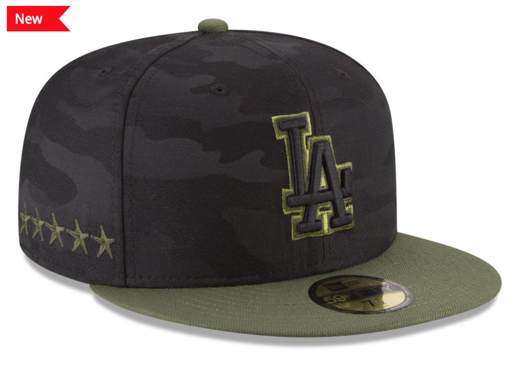 2015 2016 2017 And 2018 Mlb Memorial Day Camo Hat 59fifty