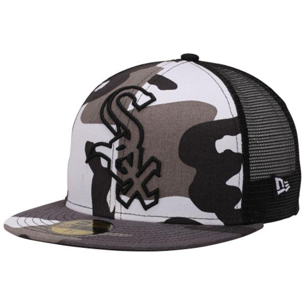 New Era Mesh Hat 59fifty Urban Camo