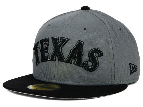 Major League Baseball New Era Black And Gray 59 Fifty Hats